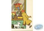 Post Card, Tintin : Le sceptre d'Ottokar, le magasin de jouet