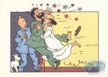 Bookplate Offset, Tintin : Pyjamas