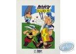 Serigraph Print, Astérix : Asterix the Gauls