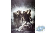 Offset Print, Royo : The Orc Cementery