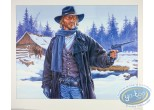 Offset Print, Durango : Durango in the snow with a gun