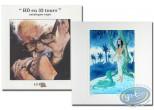 Book, BD en 33 Tours : BD en 33 tours + ex-libris Dany + ex-libris Roels aquarellé
