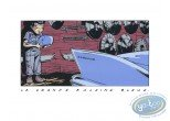 Serigraph Print, Bitume : The big blue whale