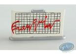 Metal Figurine, Signatures de Franquin (Les) : Franquin signature Electrocardiogram, Pixi