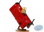 Metal Figurine, Spirou and Fantasio : Fantasio stuck in the couch, Pixi