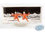 Metal Figurine, Tintin : Destination Moon - Thompson & Thomson, Pixi