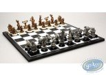 Metal Figurine, Pacush Blues - Les rats : Mini chess game, Pixi