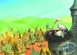 Offset Print, Smurfs (The) : Storks