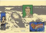 Bookplate Serigraph, Dallas Barr : Big Croc