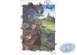 Bookplate Offset, Percevan : Luguy, Festival BD Liguge