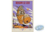 Bookplate Serigraph, Rogon le Leu : The Mad Tower