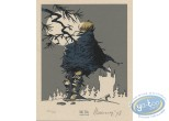 Bookplate Serigraph, Prince des Ecureuils (Le) : Full Moon