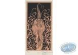 Bookplate Serigraph, Garulfo : Sorcerer