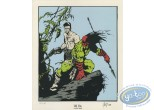 Bookplate Serigraph, Mort Linden : Warriors
