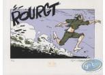 Bookplate Serigraph, Potamoks (Les) : Running