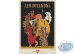 Bookplate Serigraph, Potamoks (Les) : In the cave