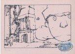 Bookplate Serigraph, Apprendre à Frissonner : Fireplace (b&w)