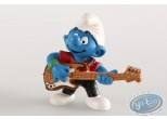 Plastic Figurine, Smurfs (The) : Smurf bassist