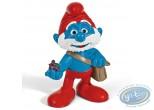 Plastic Figurine, Smurfs (The) : Papa Smurf (movie version)