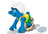 Plastic Figurine, Smurfs (The) : Sprinter Smurf