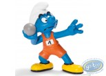 Plastic Figurine, Smurfs (The) : Shotputter Smurf