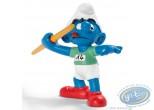 Plastic Figurine, Smurfs (The) : Javelin thrower Smurf
