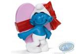 Plastic Figurine, Smurfs (The) : Smurf heart