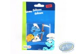 Plastic Figurine, Smurfs (The) : Peasant Smurf - 1981