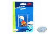 Plastic Figurine, Smurfs (The) : Smurf on the substitute bench - 2003