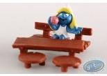 Plastic Figurine, Smurfs (The) : Vanity Smurfette