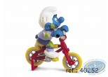Plastic Figurine, Smurfs (The) : Smurf freestyle bike