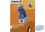 Plastic Figurine, Smurfs (The) : Smurf swimmer - Belgian Edition
