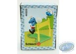 Plastic Figurine, Smurfs (The) : Smurf Volleyball + box