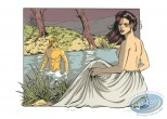 Serigraph Print, Dampierre : The Bath
