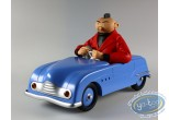 European comic strip vehicle, Jeune Albert (Le) : The Young Albert in his car (blue)