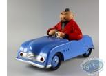 European comic strip vehicle, Jeune Albert (Le) : The Young Albert in his car (blue)