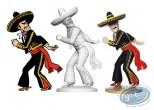 Resin Statuette, Tintin : Alcazar lanceur de couteau, Les 7 boules de cristal Page 10 + album