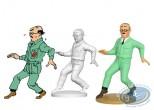 Resin Statuette, Tintin : Frank Wolff l'ingénieur félon, On a marché sur la lune Page 53 + album