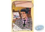 Post Card, Honour Jean Graton, Les Grands Ancêtres by A. Floc'h