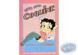 Deco, Betty Boop : Decorated placard : Betty Boop 'Coquine'