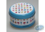 Box,  Mr. Men and Little Miss : Round metal box, Mr Men: Group