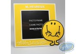 Photo Frame,  Mr. Men and Little Miss : PVC Photo Frame, Mr Happy : Yellow