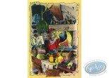 Post Card, Honour Franquin, Les Grands Ancêtres by A. Floc'h