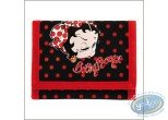 Luggage, Betty Boop : Wallet with little red points, Betty Boop (black)