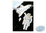 Aquarelle, Dan Cooper : In Space