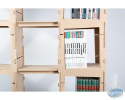 Bookcase 2 columns 'Skive'- kit 4