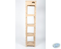 Basic Bookcase 1 column ' Skive ' - kit 2