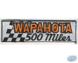 Embroidered badge, Joe Bar Team : Wapahota
