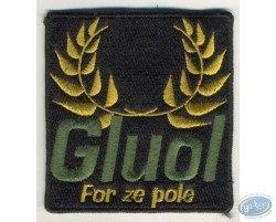 Embroidered badge, Joe Bar Team : Gluol
