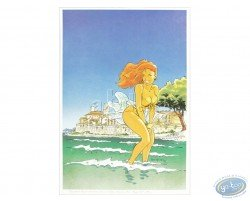 Woman in Antibes